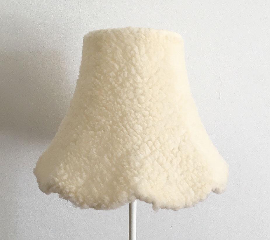 Flauschi Lampenschirm